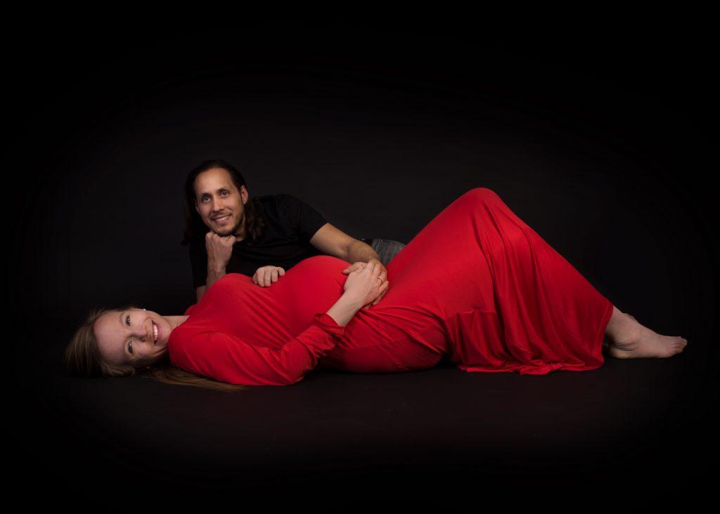 Sesja ciążowa w studio Szamotuły