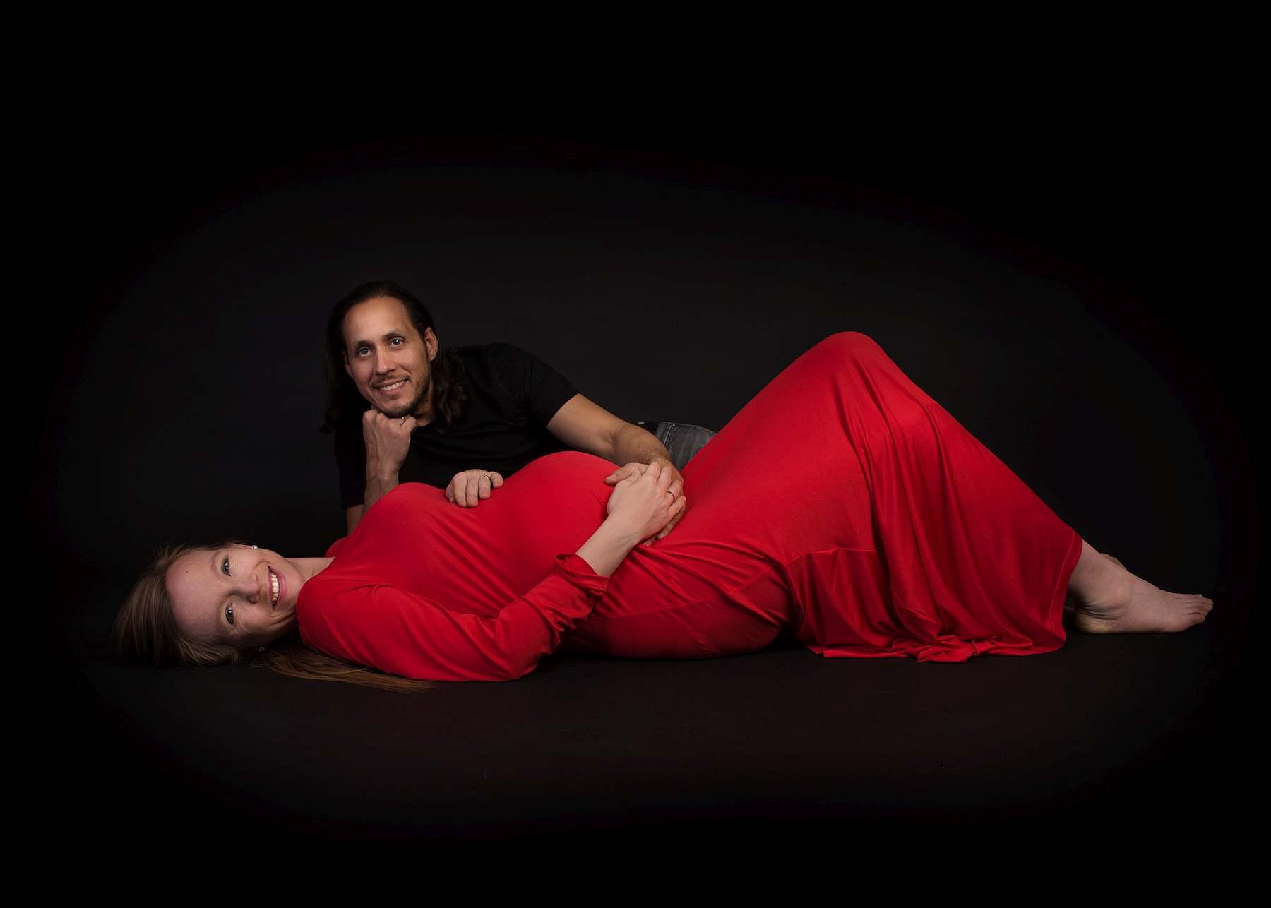 sesja ciążowa w studio