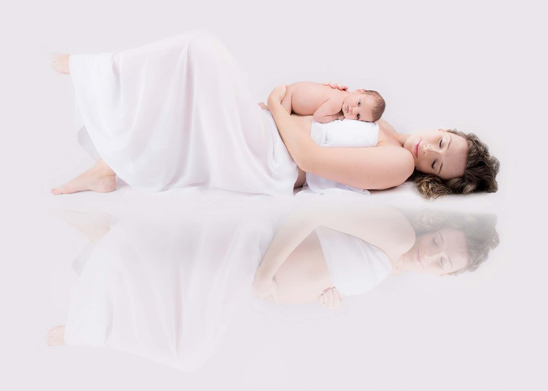 sesja ciążowa składana