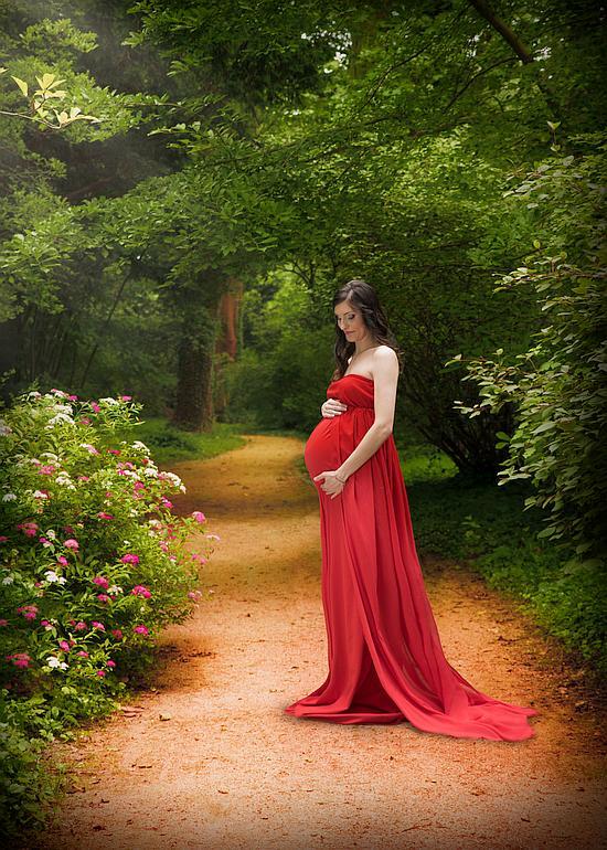 sesja ciążowa plenerowa poznań